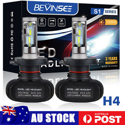 AU43.89 • Buy 2x H4 472 LED Headlight Bulb Fog Globe Hi/Low Beam Farther For Mazda For Honda