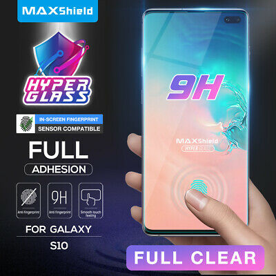 AU10.95 • Buy Galaxy S10 5G S10+ Plus S9 S8 Plus Case Friendly Tempered Glass Screen Protector