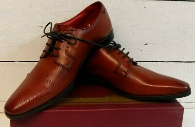 £35 • Buy Men's Base London Charles Tan Leather Lace Up Shoes