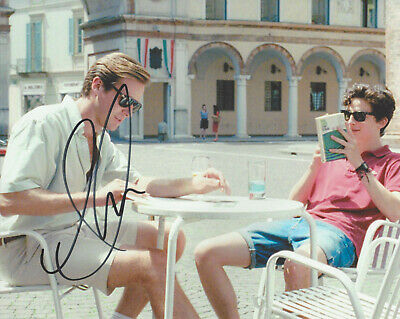 AU83.58 • Buy ACTOR ARMIE HAMMER SIGNED CALL ME BY YOUR NAME 8x10 MOVIE PHOTO COA PROOF