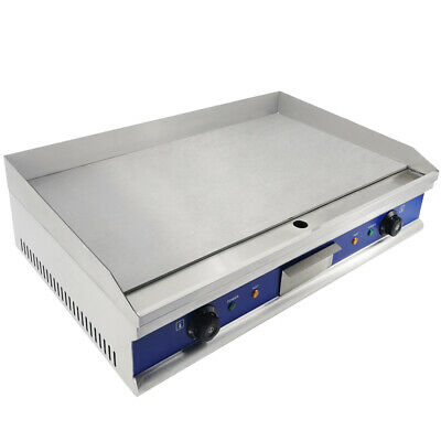 4400W Commercial Electric Griddle Hotplate Flat Grill Hot Plate Large Countertop • 164£