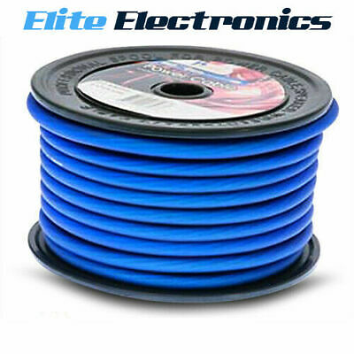 AU9.75 • Buy Aerpro Mx420b 4 Awg Gauge Maxcor Series Blue Power Cable Wire