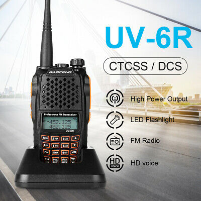 2XUpgraded BAOFENG BF-888S Dual-Band Walkie Talkie Long Range FM 2-Way Ham Radio • 18.99£