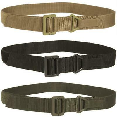 Mil-Tec Mens Military Rigger Belt Tactical Army Metal Buckle Secure Fastening • 9.95£