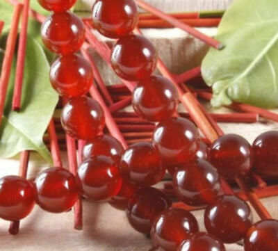 $ CDN3.77 • Buy 8mm Red Ruby Round Loose Beads Gemstone 15 AAA
