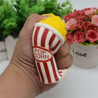 AU5.06 • Buy Jumbo Squishies Popcorn Kawaii Food Cream Scented Slow Rising Stress Relief RE