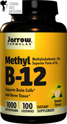 Jarrow Formulas Methylcobalamin (Methyl B12), Supports Brain Cells And Nerve...  • 5.73£