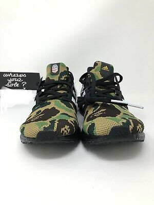 e1679500dabbb Adidas Bape Ultra Boost Size 9.5 A Bathing Ape Superbowl SB UB 4.0 NEW  F35097 DS