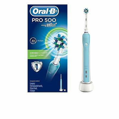 AU60.90 • Buy Oral-B PRO 500 Cross Action – Rechargeable Electric Toothbrush