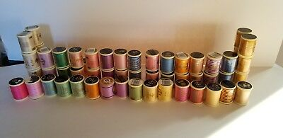 $150 • Buy Anchor Machine Embroidery Thread 100% Cotton - 49 Spools (39 New, 10 Used)