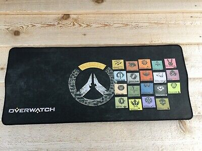 AU13.02 • Buy New Overwatch Large SPEED Gaming Mouse Pad PC Laptop Keyboard 27.5  X 12