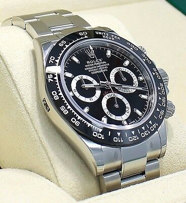 $ CDN33941.13 • Buy Rolex Daytona 116500LN Chrono Oyster Black Ceramic Bezel Watch BOX/PAPER NEW