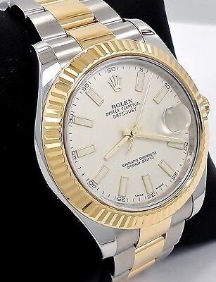 $ CDN15678.49 • Buy Rolex Datejust II 116333 Two Tone 18K Yellow Gold/SS Ivory Dial MINT CONDITION