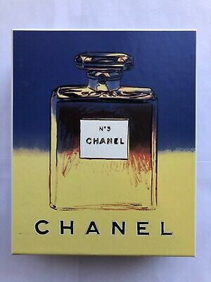 $214.99 • Buy Andy Warhol Chanel N5 No 5 Perfume Body Mist Soap Gift Set 1997 BRAND NEW 511038