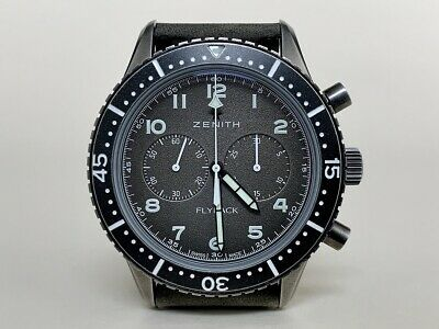 $5295 • Buy ~RARE~ Zenith Pilot Cronometro Tipo CP-2 Flyback Chrono Watch With Box & Papers