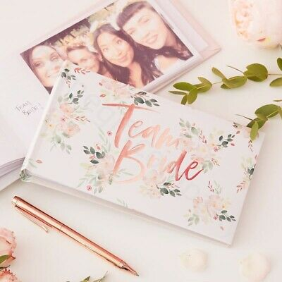 Team Bride Hen Party Photo Album 6x4 Scrapbook Bride To Be Hen Do Accessories • 7.89£