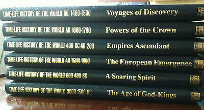 Time-Life History Of The World - 6 Books • 23.50£