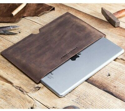 $17.98 • Buy Real Leather Sleeve Pouch Case For Ipad 7.9  Mini 1 2 3 4 5 All Ipad 7.9