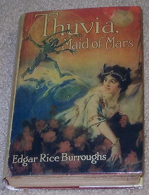 THUVIA, MAID OF MARS Edgar Rice Burroughs (Tarzan, John Carter) G&D 1924 • 24.99$