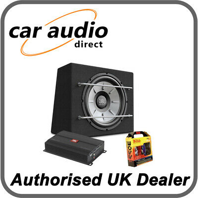 JBL 12  1000W Stage 1200B Subwoofer & Stage A3001 Amplifier Package Deal • 149.99£