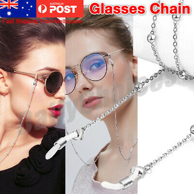 AU4.89 • Buy Eyeglass Reading Spectacles Sunglasses Glasses Cord Holder Necklace Chain