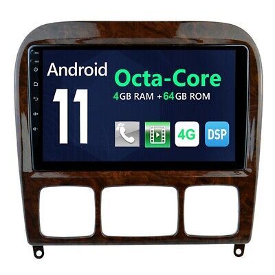 $369.99 • Buy Car DVD GPS Radio Navi For Mercedes Benz S Class W220 1998 - 2006 7  Android 10