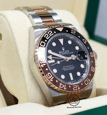 $ CDN26730.66 • Buy  Rolex GMT-MASTER II 126711 ROOT BEER 18K Rose Gold /SS Ceramic B/PAPER *UNWORN*