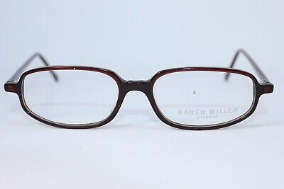 Karen Millen Plastic Round Full Rim Rectangle Glasses Frames Spectacles • 18.99£