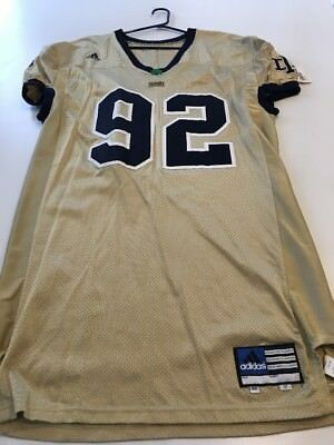 best loved cf43a 3f8a8 game worn notre dame jersey