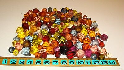 $29.99 • Buy Vintage Mixed Lot Of Faux Crystal Lucite Acrylic Plastic Prisms - 160+ Pieces!!