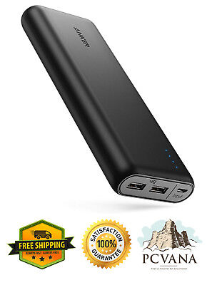 AU91.69 • Buy Portable Charger Anker PowerCore 20100mAh - Ultra High Capacity Power Bank With