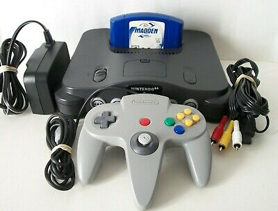 $ CDN164.99 • Buy Nintendo 64 N64 Console With 2 Sports Games Controller Cords System Bundle Lot