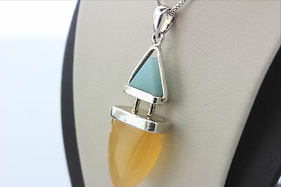 $ CDN87.10 • Buy WK Whitney Kelly 925 Sterling Silver Natural Crystal Necklace - 18