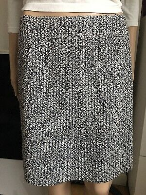 £190 • Buy Authentic CHANEL Tweed Skirt, Made In France, Size Fr 38, UK10, US6