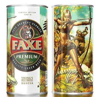 $ CDN18.43 • Buy Faxe Empty Beer Can Vikings Best Friend Part 3 Top Opened. 0.9 L From Russia