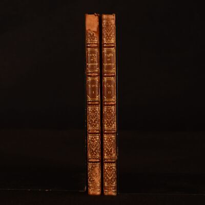 1780 2vols The Vicar Of Wakefield A Tale Oliver Goldsmith Sotheran Binding • 192£