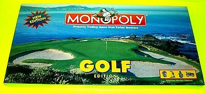 Monopoly Classic Game GOLF Edition Custom Pewter Bag Tee Caddy Putter Ball Shoes • 35.76£