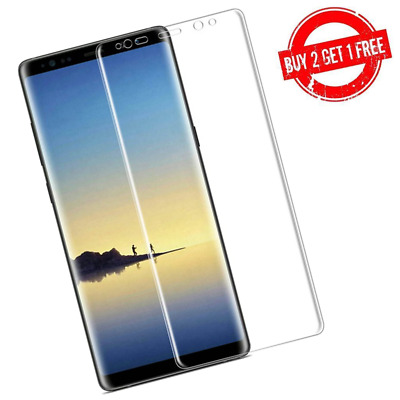 $ CDN3.95 • Buy Samsung Galaxy Note 8 Full Coverage Clear Case Compatible Film Screen Protector