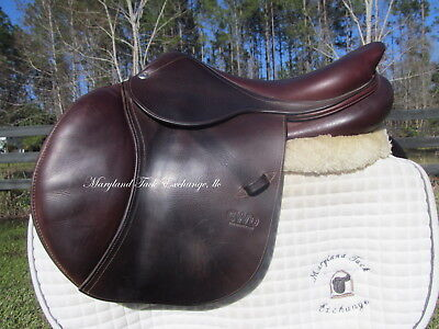 $ CDN3857.35 • Buy 17  CWD SE01 French Close Contact Jumping Saddle-1L Short Flaps-* ON TRIAL*