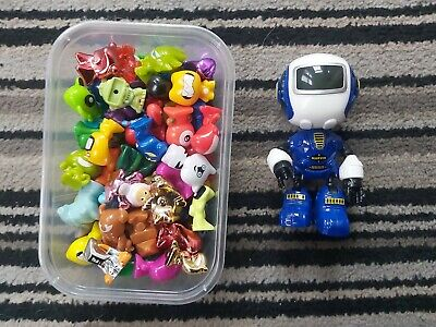 Old Moshi Monsters Bundle Play Toy Figures & Revell Marvin Robot Toy • 14.95£
