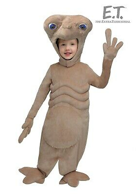 $24.49 • Buy TODDLER E.T. EXTRA-TERRESTRIAL COSTUME SIZE 2T (with Defect)