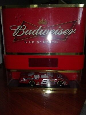 $ CDN301.62 • Buy Budweiser Beer Neon Licht Nascar Clock Sign 18 X 18 X 5