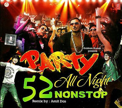 Party All Night 52 Nonstop - Bollywood Dance Remix Cd   • 9.99£