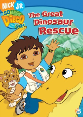 Go Diego Go-go Diego Go:great Dinosaur Rescue  (us Import)  Dvd New • 12.84£