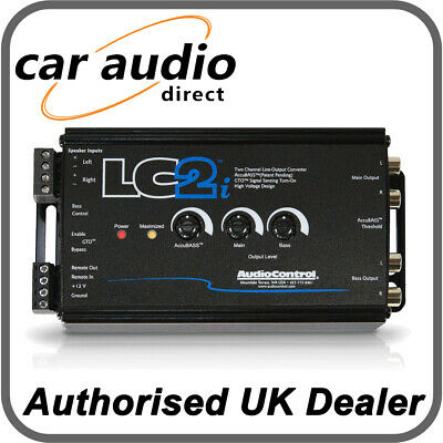 AudioControl LC2i 2 Channel Line Processor Convertor Main And Subwoofer Output • 124.99£