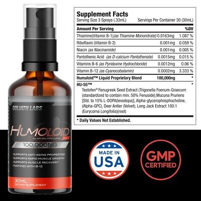 $24.99 • Buy Anabolic Testosterone Booster Build Muscle No/Hgh 1 Bottle (1OZ)