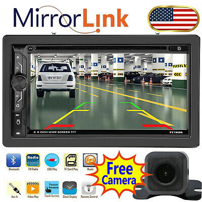 $138.23 • Buy Car Stereo In-Dash CD MP3 Receiver W/ USB Auxiliary Input Mirror Link For GPS