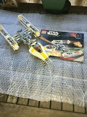 AU126.95 • Buy Lego 7658 Star Wars, Y-Wing Fighter, Pre-Owned, Complete No Box.