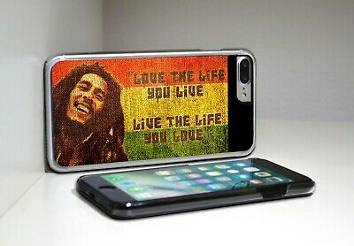 Bob Marley Love The Life You Live Phone Case Cover IPhone + Samsung • 6.99£
