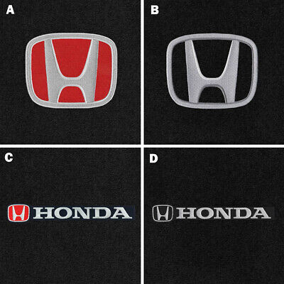 $145.90 • Buy New! RED Floor Mats 2001 - 2020 Honda Civic W/ Embroidered Logo Set - Front Rear